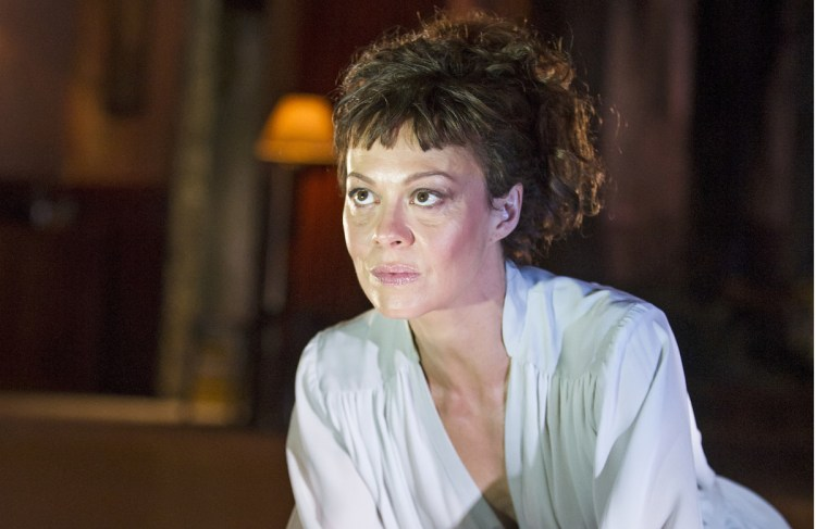 Helen McCrory in Medea at the National Theatre in 2014. Photo: Tristram Kenton