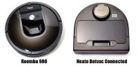 Neato BotVac Connected vs Roomba 980: Comparison and Review