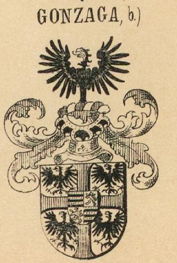 Gonzaga Family Crest Coat of Arms and Name History