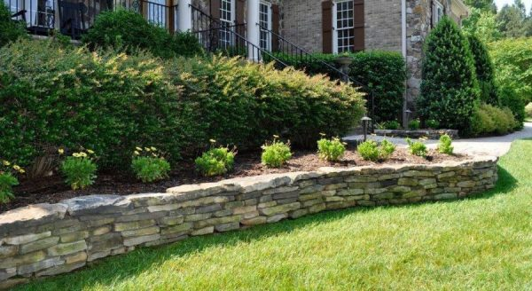 retaining wall design give