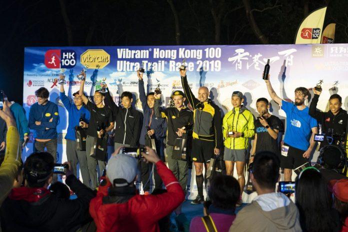 2019年度 HK100 賽事男子組首十名選手。