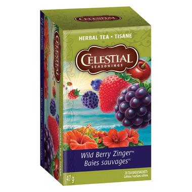 Buy Celestial Seasonings Wild Berry Zinger Tea at Wellca