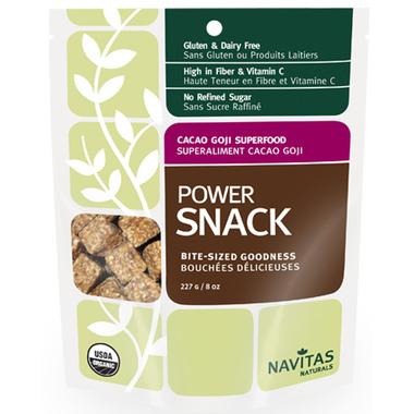 Buy Navitas Naturals Organic Cacao Goji Power Snack at
