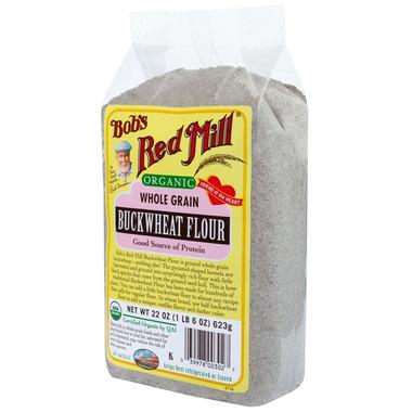Buy Bob39s Red Mill Organic Whole Grain Buckwheat Flour at