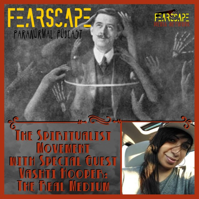 The Spiritualist Movement with Special Guest, Vashti Hooper: The Real Medium