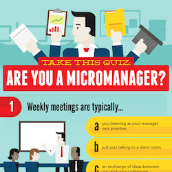 Take This Quiz Are You A Micromanager Infographic