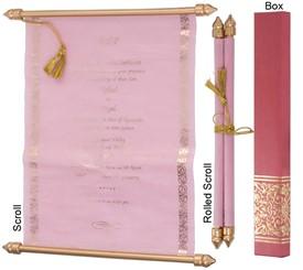 box scroll invitations box