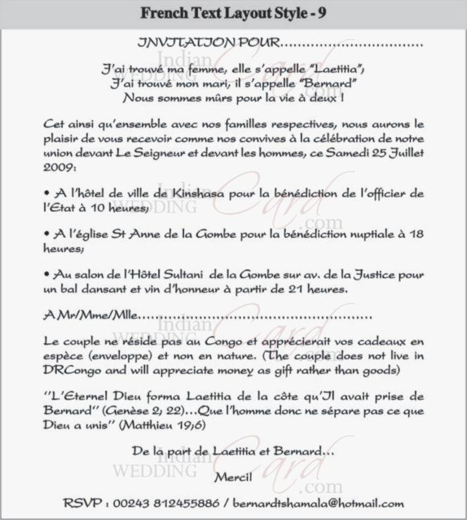 French Wedding Invitation Wording – guitarreviews.co