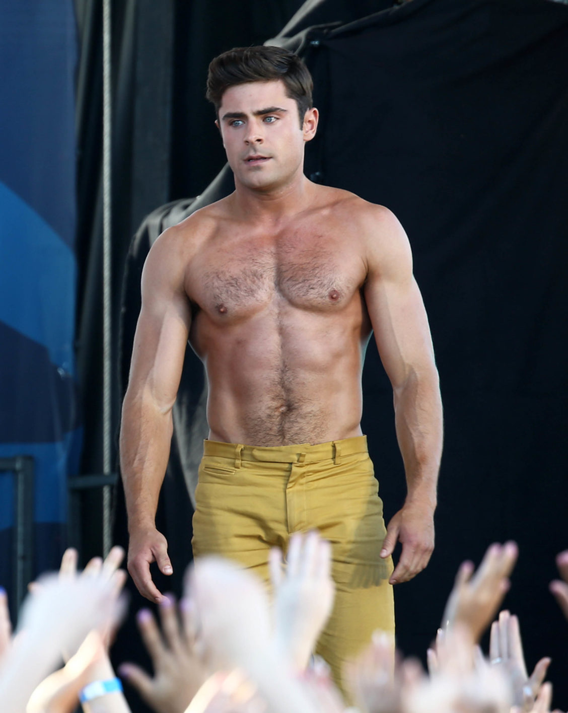 Zac Efron Torse Nu : efron, torse, Efron, Shirtless:, Times, Hunky, Actor, Almost, Shared, Goods, Hornet,, Social, Network