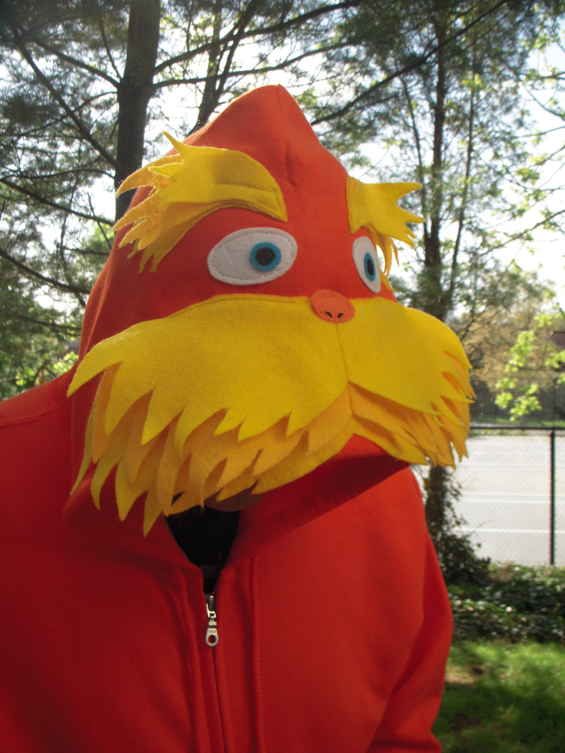 Lorax Inspired Hoofor Adult