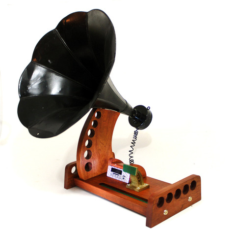 Ihorn Bluetooth Speaker Horn System Fm Plus Mp3
