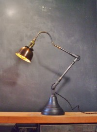 Vintage Industrial Style Desk Lamp w/ Copper Shade on Storenvy