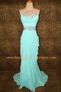 Sweetheart Girl | Fashion Sweetheart Ice blue prom dress ...