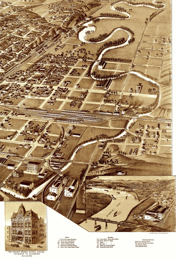Historic Maps of Sioux City Iowa
