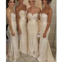 lace bridesmaid dresses, mermaid bridesmaid dresses, long ...