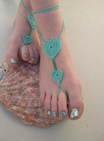 Barefoot Bridal Sandals Beach Wedding