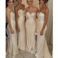 2015 Bridesmaid Dress, Long Bridesmaid Dress, mermaid ...