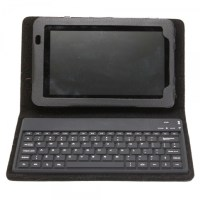 "7"" PU Tablet PC Leather Case with Bluetooth Keyboard for ..."