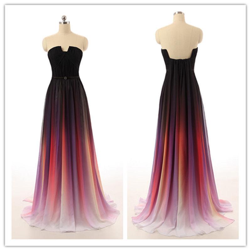 Ombre prom dresses unique prom dresses prom dresses 2016
