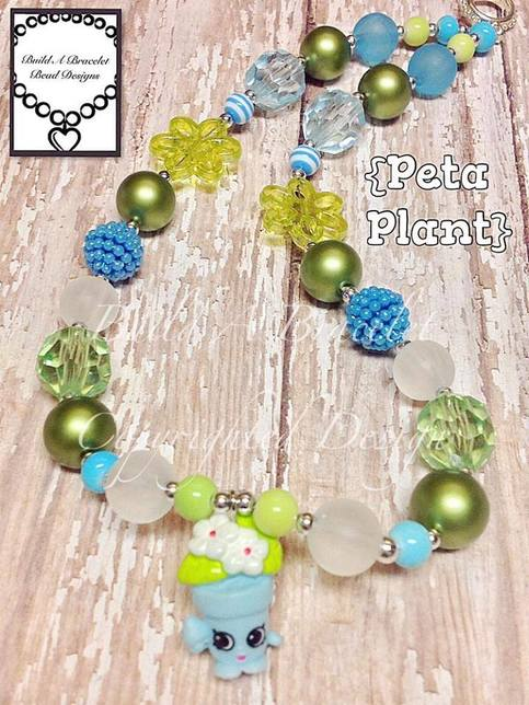 Build A Bracelet Bead Designs Shopkins Peta Plant New