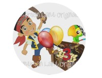 Jake and the Neverland Pirates Birthday Plate