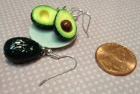 Avocado Earrings on Storenvy