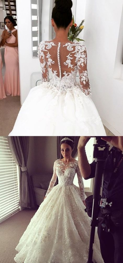 Modest Wedding Dress Tulle Country Wedding Dresses For