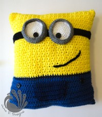 Minion Pillow on Storenvy