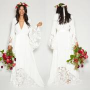 summer beach boho wedding dresses