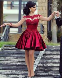 Long Sleeve Homecoming dresses,Charming Homecoming dresses ...