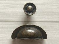 """2 3/4"""" Dark Antique Bronze Dresser Knobs Pulls Drawer Knob ..."""