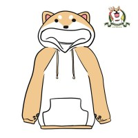 Cute cartoon dog hoodies  Harajuku fashion  Online Store