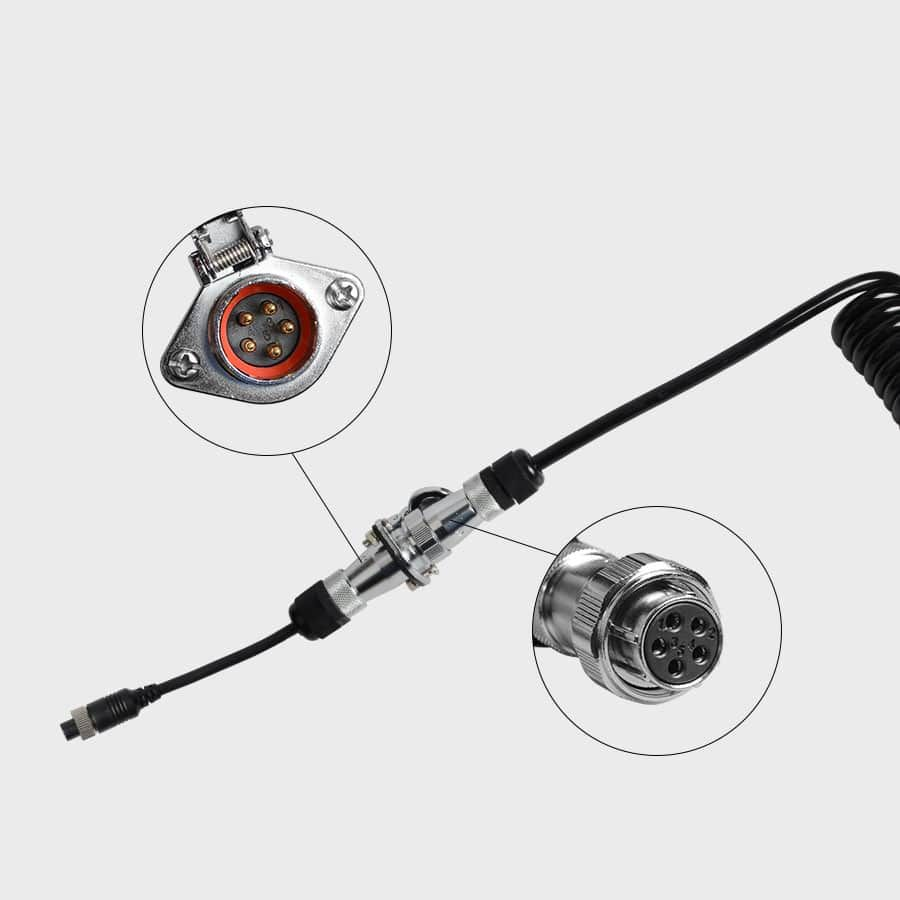 Haloview Quick Connect/Disconnect Trailer Cable for the