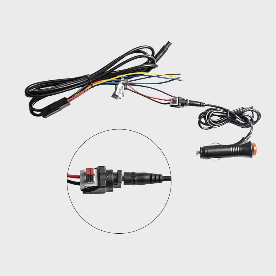 Haloview Cigarette Lighter Power Supply Adapter 1.4 Meters