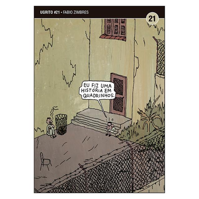 Ugrito #21: Eu Fiz Uma História em Quadrinhos (Fabio Zimbres)