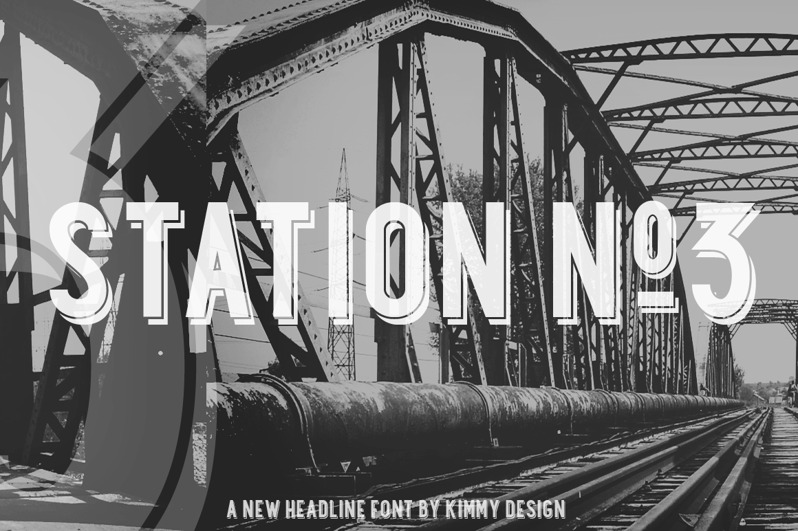 Station All Display Fonts On Creative Market