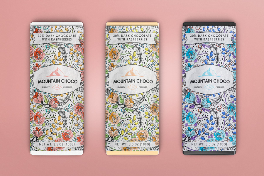 Download Chocolate Package Mockup ~ Product Mockups on Creative Market