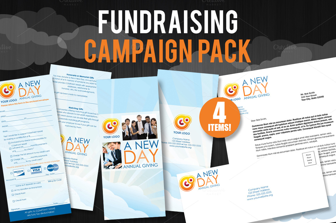fundraising brochure samples