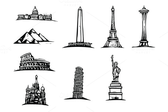 Free Download Of Pencil Sketch Of Indian Monuments