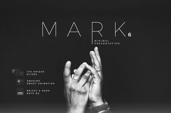 Mark06-Minimal Keynote Template