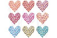 Rainbow Colorful Heart Shape Set ~ Illustrations on ...