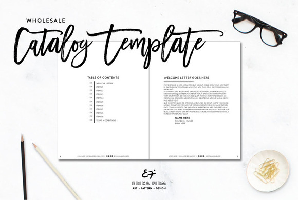 Corporate Indesign Modern Booklet Catalog Pages