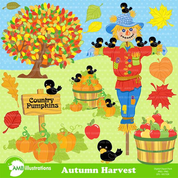 harvest fall clipart amb-147