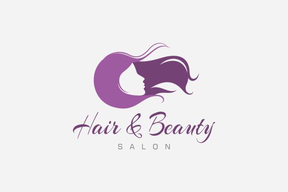 hair & beauty salon logo