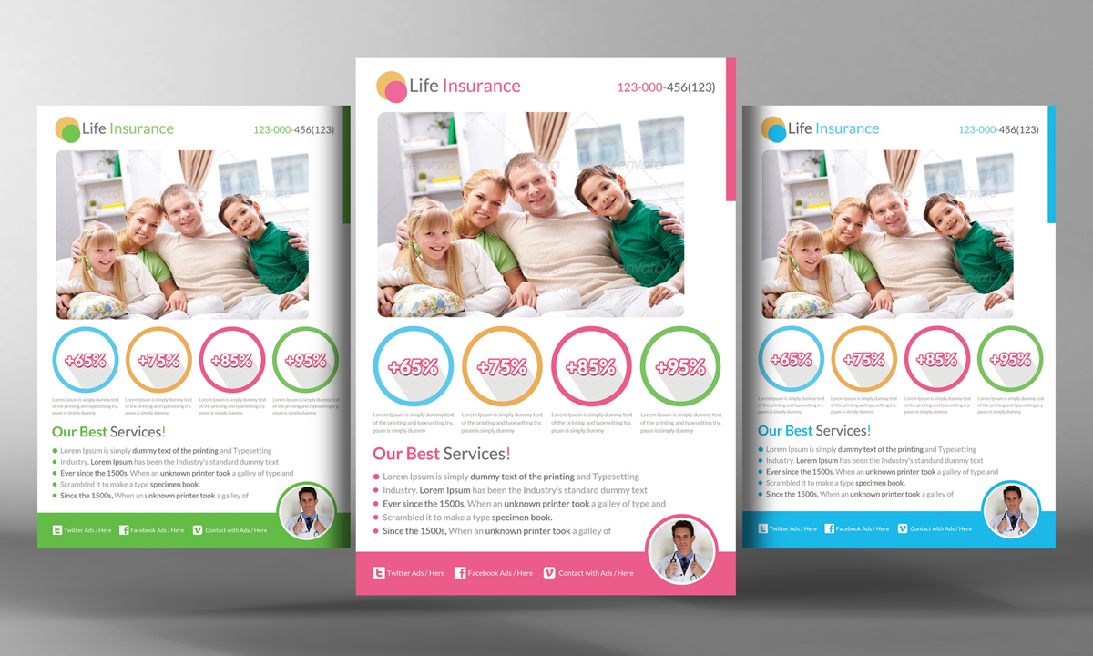 Life Insurance Flyer Template Flyer Templates On