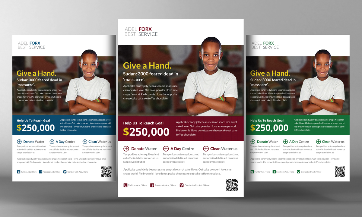 Charity Donation Flyer Template Flyer Templates On