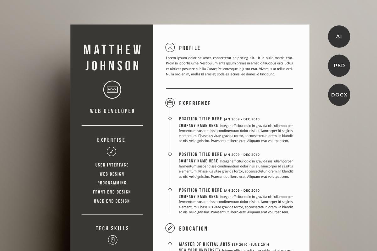 creative resume styles best online resume builder best resume creative resume styles 28 minimal creative resume templates psd word ai resume and cover letter template