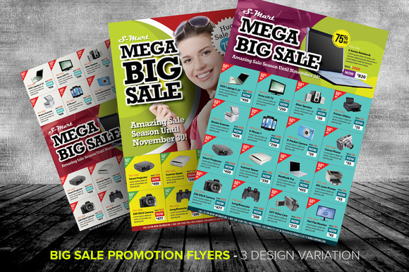 Big Sale Promotion Flyer Templates Templates on Creative