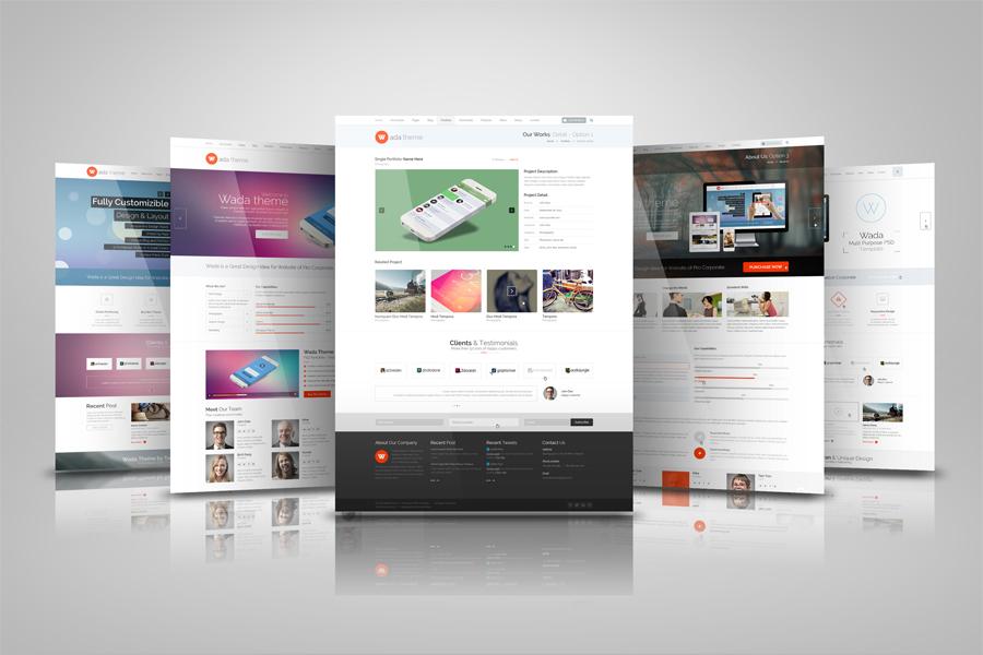 Web Presentation Mock Ups ~ Product Mockups on Creative Market