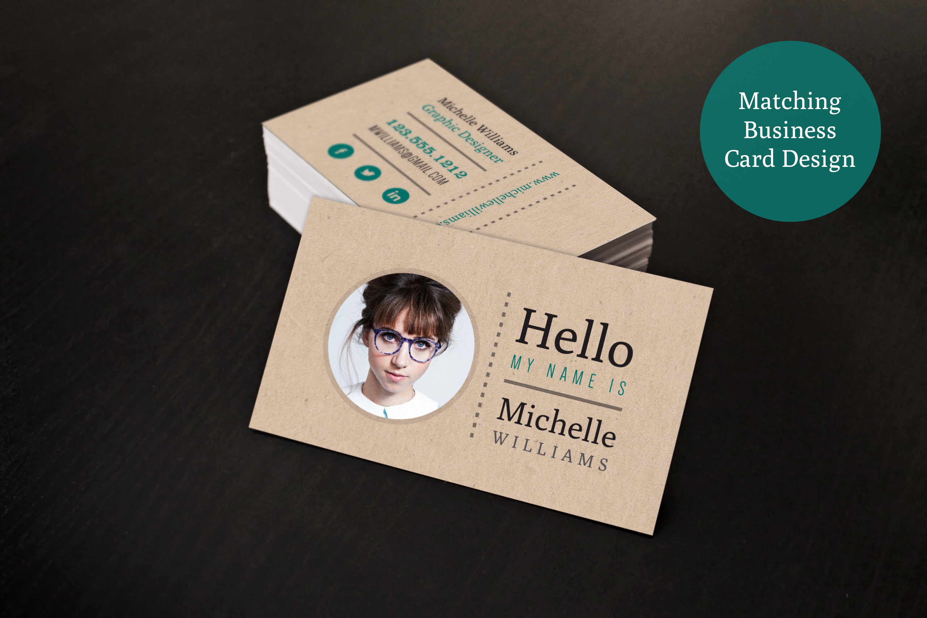 Creative Resume & Business Card Set Resume Templates On